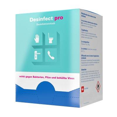 Desinfektionstücher Box