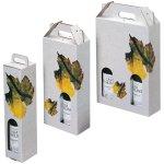 Trageverpackung mit Rebblattdekor - Premium Anwendung