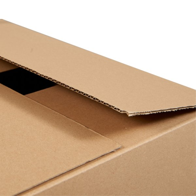 Pour lot 100 caisses en carton boite carton simple cannelure 250 x 180 x 140