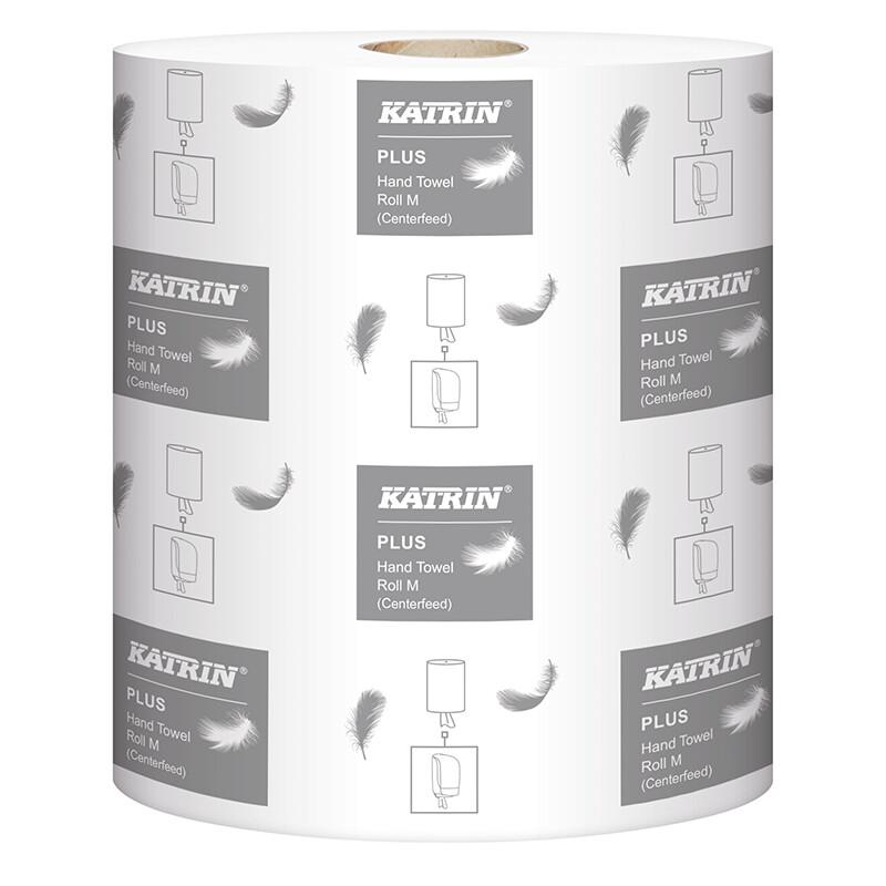 Rouleaux de papier essuie-tout Katrin® Plus