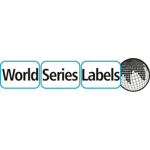 World Series Labels Top ablösbar Logo