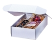 Emballages cadeaux pour vin avec cannelure ouverte