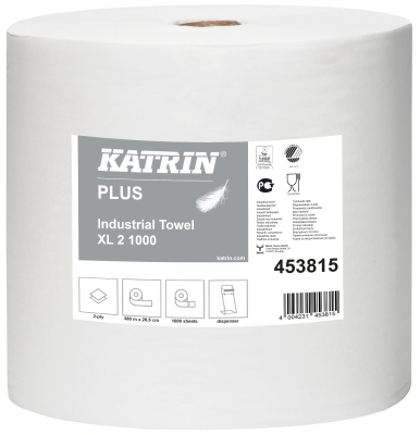 Katrin Plus Industrial Towel XL2 1000 weiss 453815