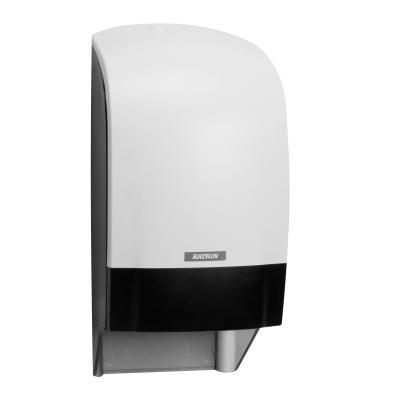 Katrin distributeur papier hygiénique Inculisive système noir 104582