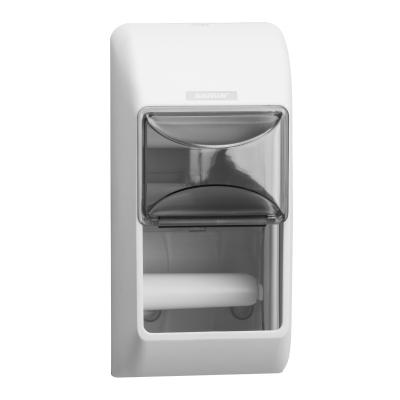 Katrin distributeur papier hygiénique 2 rouleaux blanc 92384