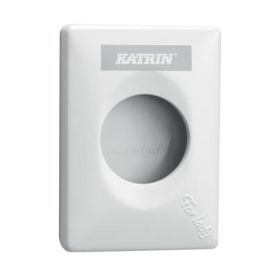 Katrin Dispenser for hygiene bag white 91875
