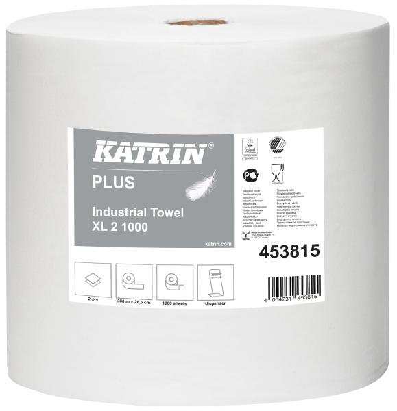 Katrin Plus Industrial Towel XL2 1000 blanc 453815