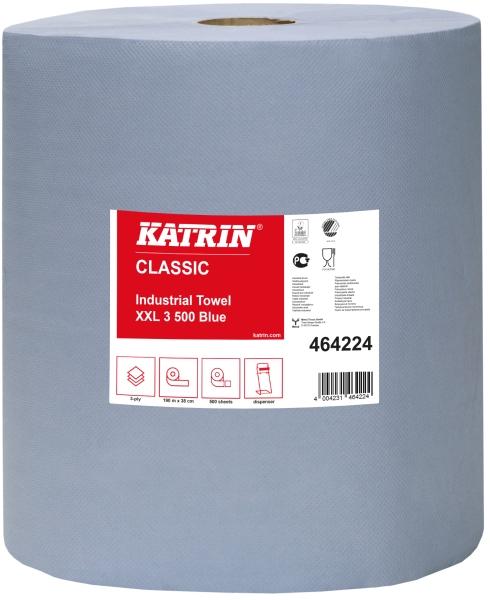 Katrin Reinigungsrollen Classic XXL 3 Blue 464224