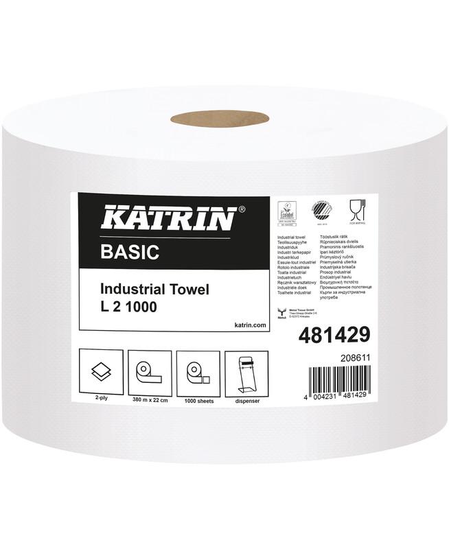 Katrin Reinigungsrollen Basic L2 1000 481429